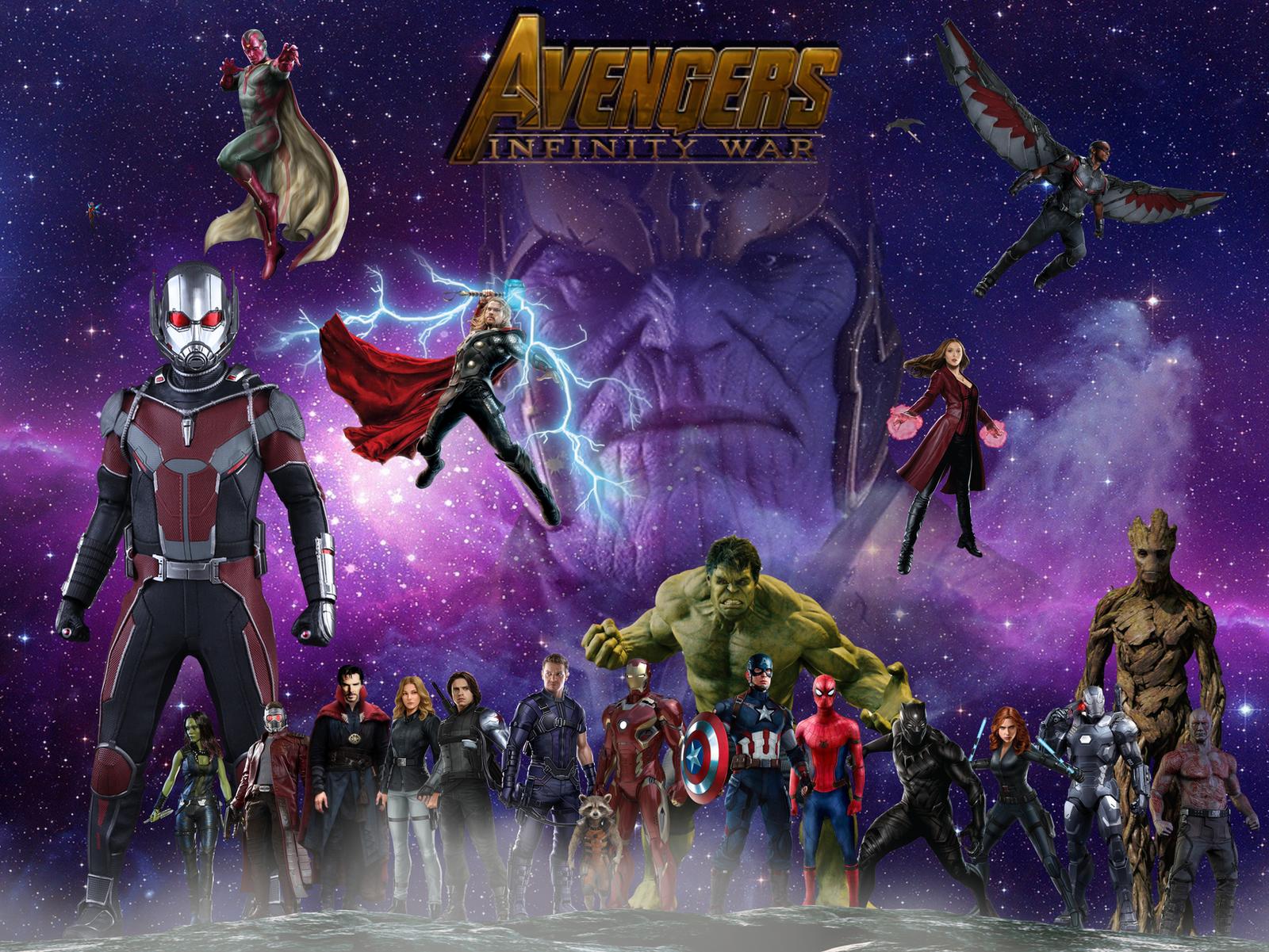 Good Wallpaper Marvel Deviantart - avengers_infinity_war_wallpaper_by_arkhamnatic-d9ygvon  Pic_132779.png