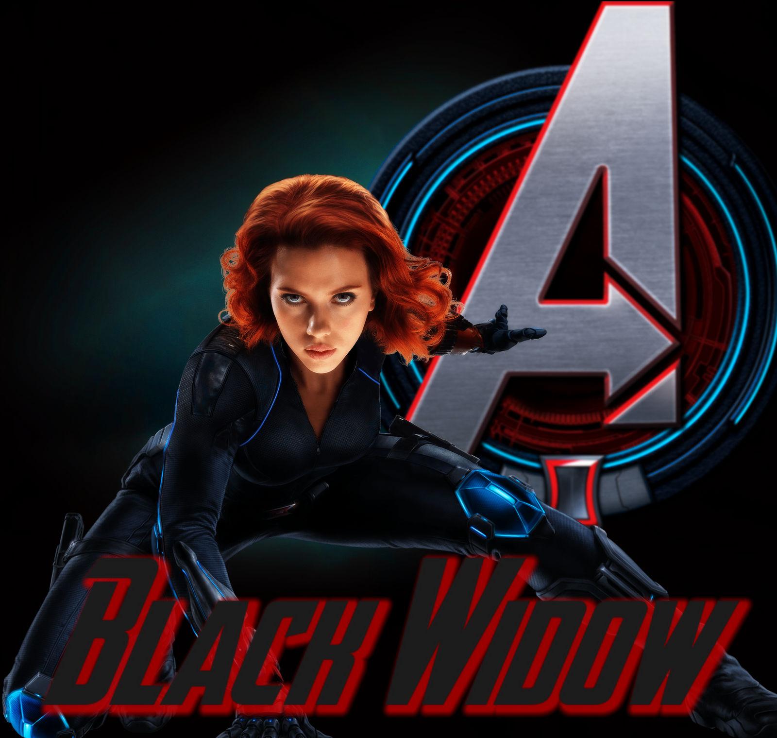 Black Widow wallpaper by ArkhamNatic on DeviantArt