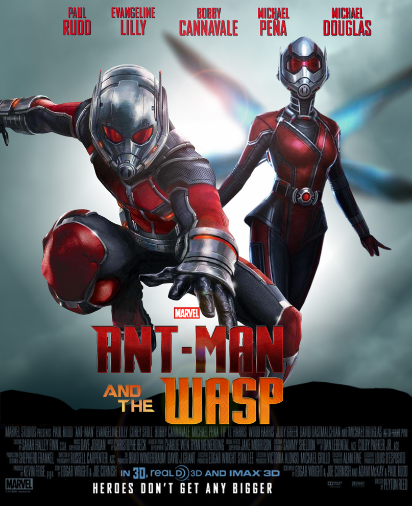 Ant Man and the Wasp movie poster by ArkhamNatic on DeviantArt