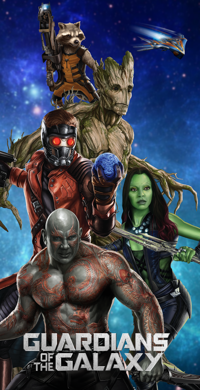Good Wallpaper Movie Guardians The Galaxy - guardians_of_the_galaxy_wallpaper_by_arkhamnatic-da258sh  Pictures_632793.png