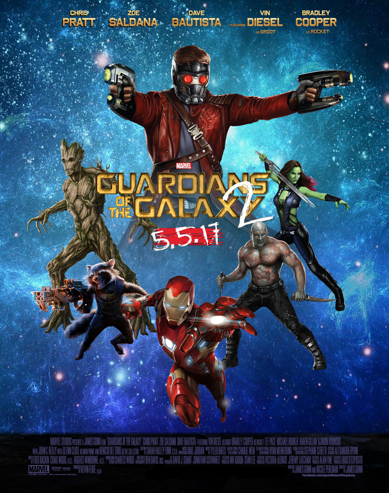 Download Wallpaper Movie Guardians The Galaxy - guardians_of_the_galaxy__vol_2_movie_poster_by_arkhamnatic-da25eet  Graphic_735223.png