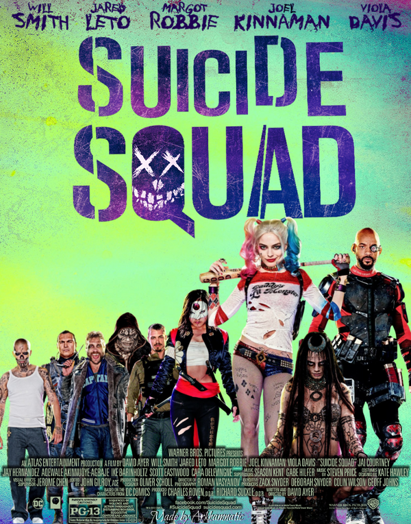 Image result for suicde squad movie poster