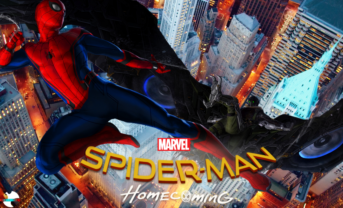 Spider Man Homecoming Movie Poster By ArkhamNatic