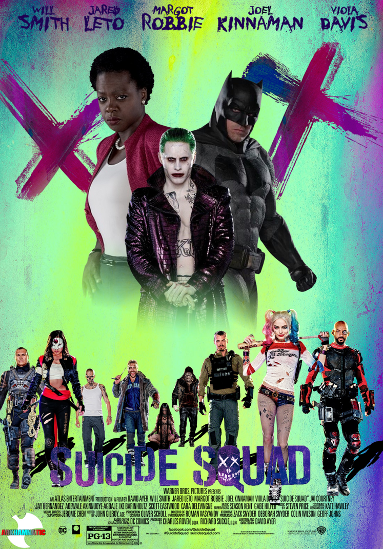 Suicide Squad movie poster by ArkhamNatic on DeviantArt