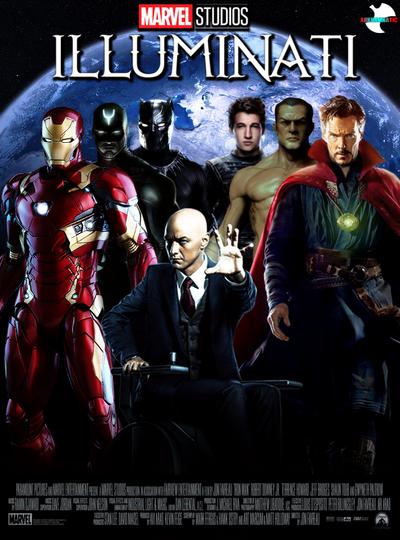 marvels illuminati movie poster by arkhamnatic on deviantart