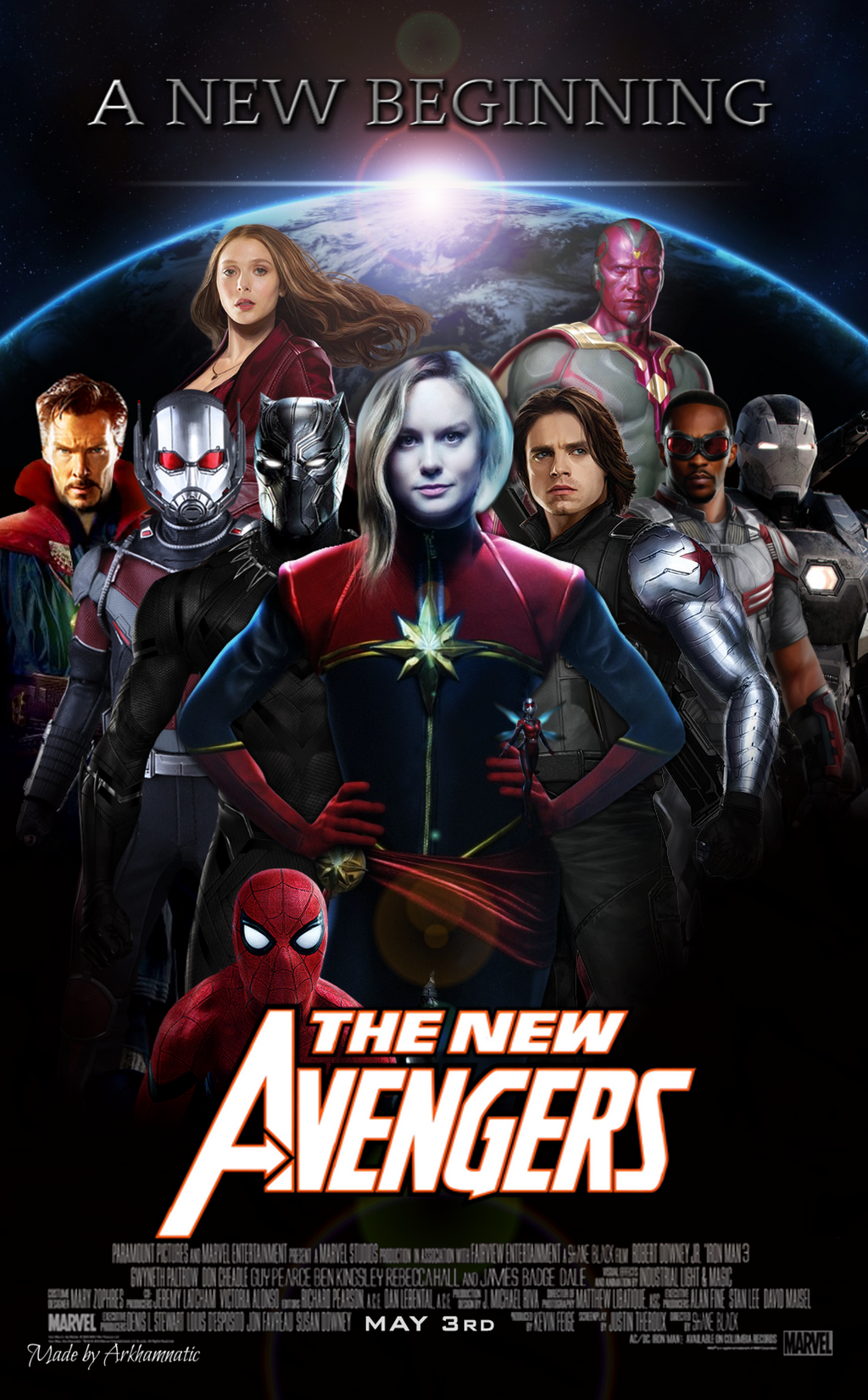 The New Avengers movie poster by ArkhamNatic on DeviantArt