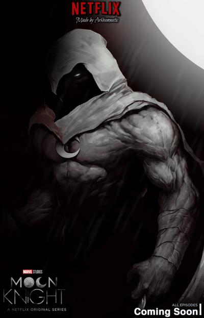 Netflix Moon Knight poster by ArkhamNatic on DeviantArt