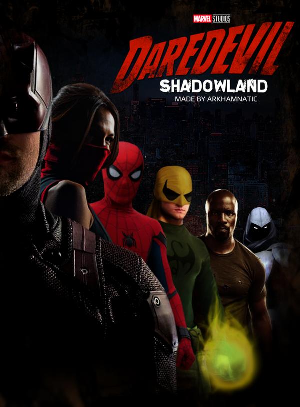 Daredevil Shadowland By ArkhamNatic