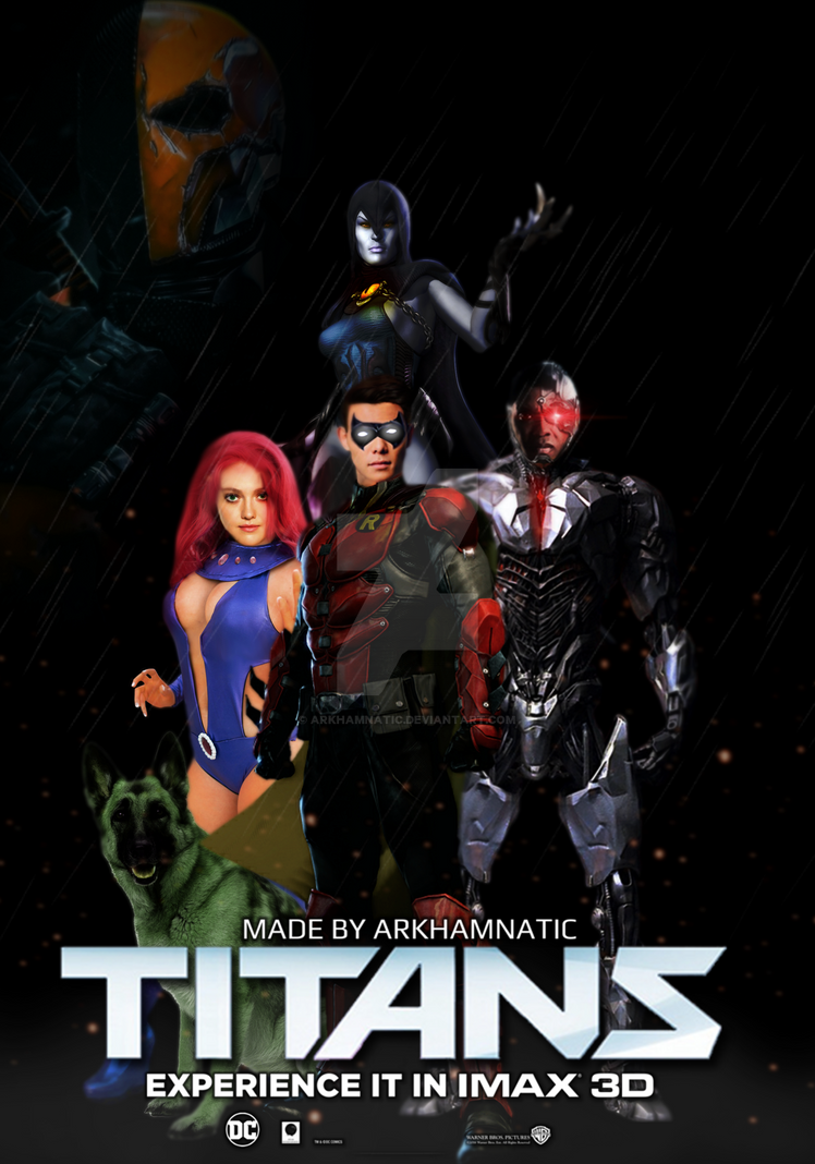 Titans movie poster by ArkhamNatic