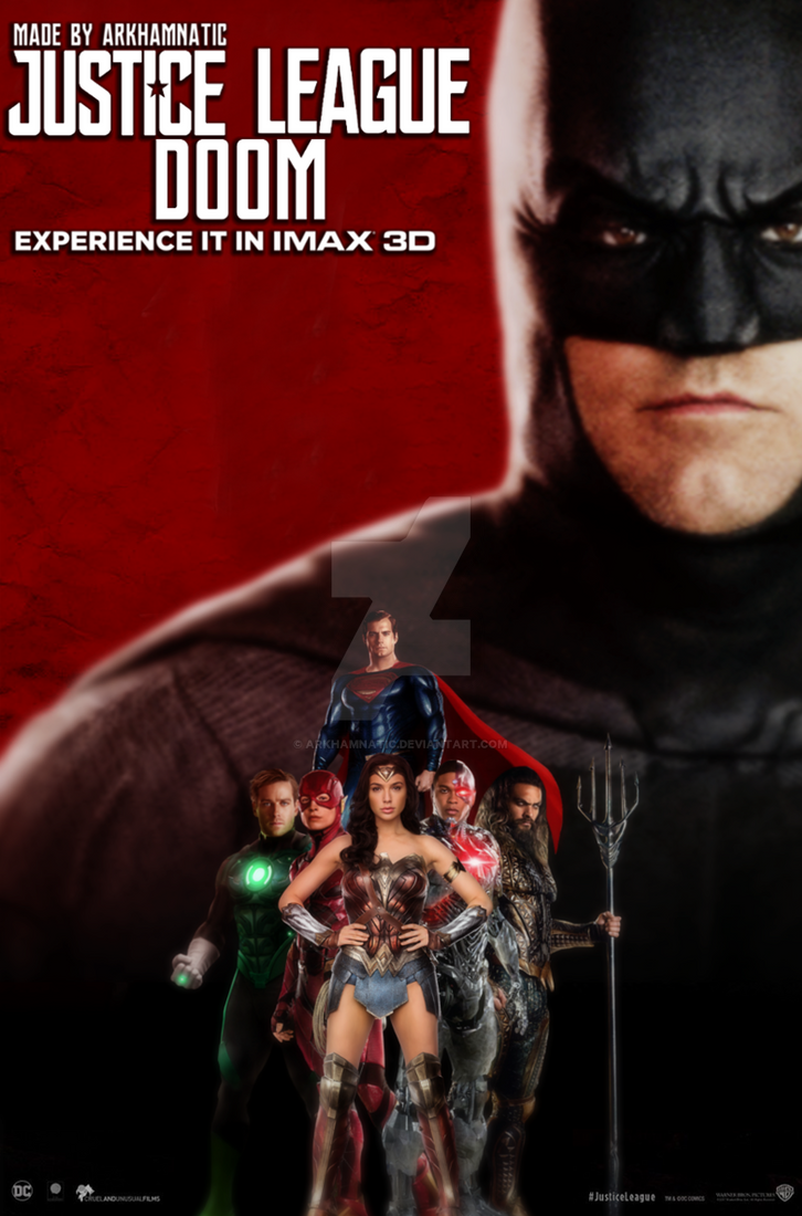 Justice League: Doom imax movie poster by ArkhamNatic on ...