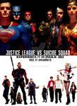 Justice League vs Suicide Squad movie poster
