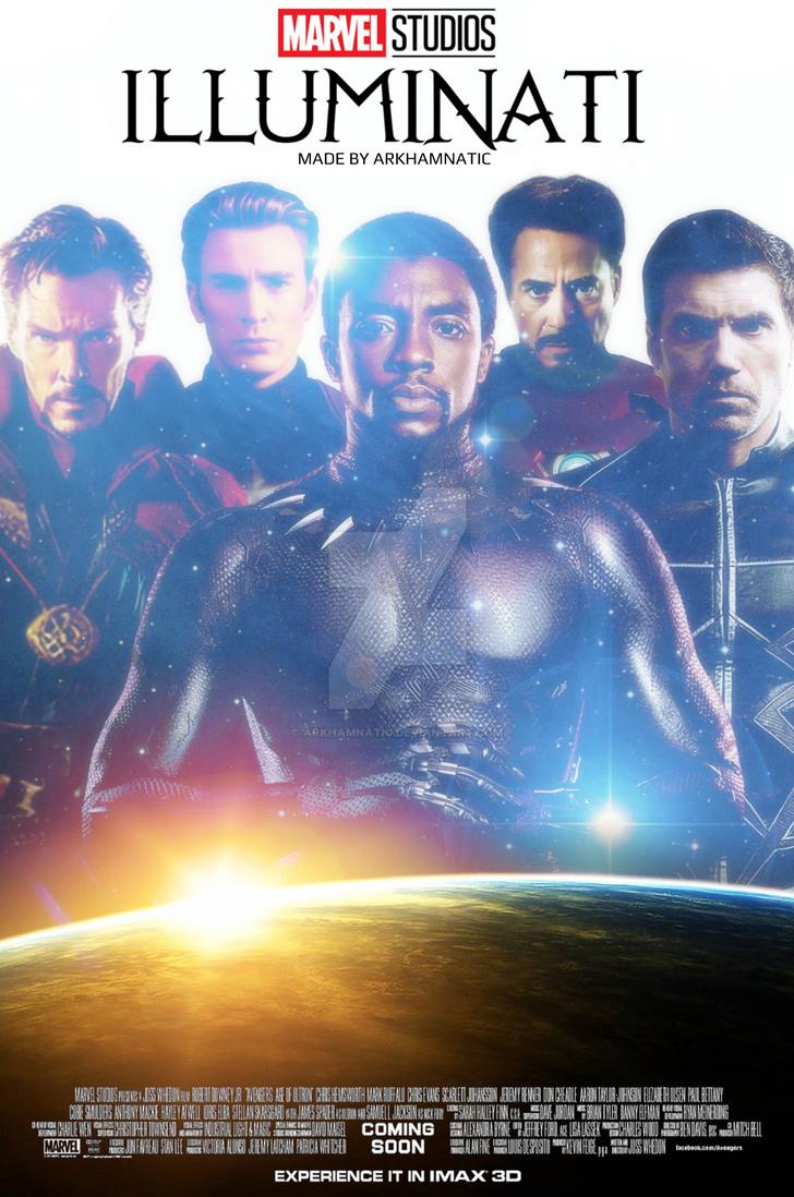 Marvel's Illuminati movie poster by ArkhamNatic