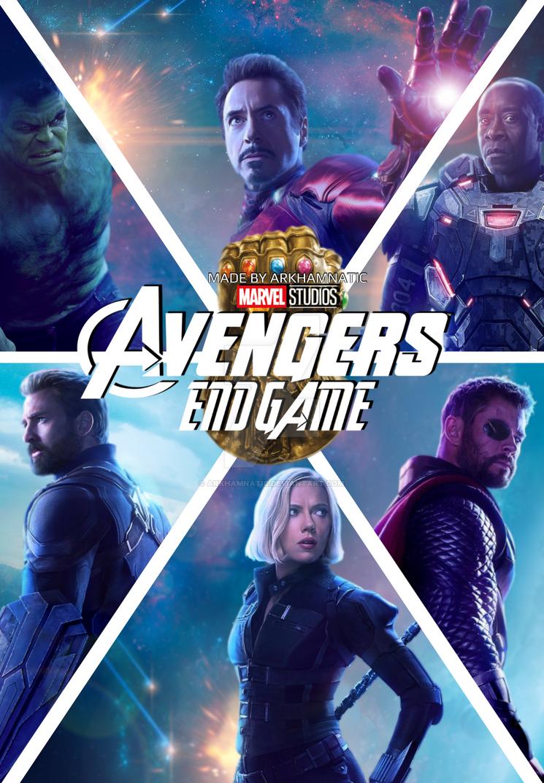 Avengers Endgame movie poster by ArkhamNatic on DeviantArt