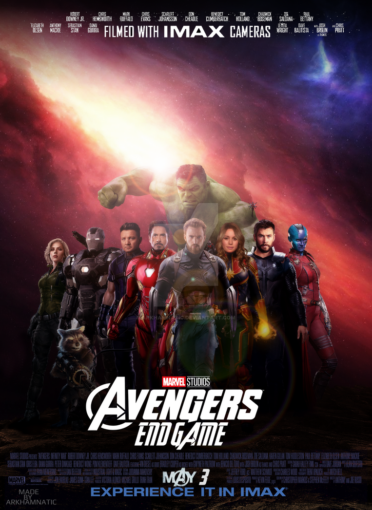 Avengers Endgame movie poster by ArkhamNatic on DeviantArt