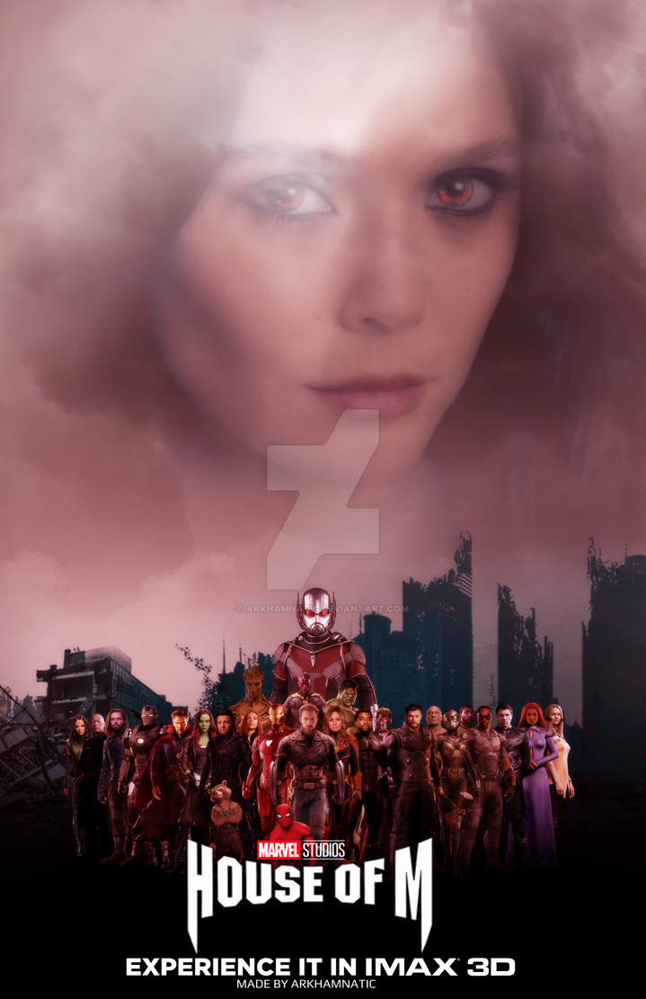Marvel's House of M movie poster by ArkhamNatic