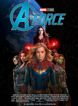 Marvel's A-Force movie poster