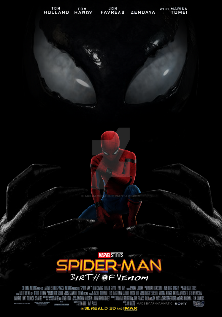 Spider-Man: Birth of Venom movie poster by ArkhamNatic on ...