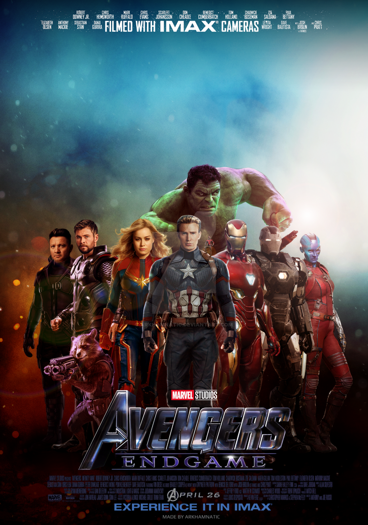 Avengers Endgame New Poster Hd