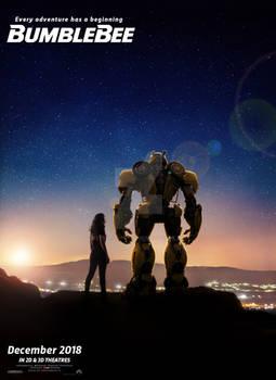 Bumblebee movie teaser poster