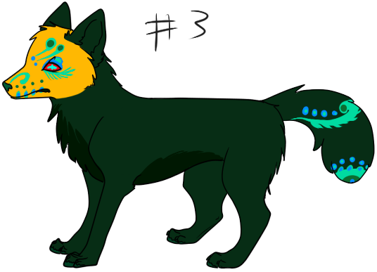 Free adopts (8) Day_of_the_dead_wolf_adopt__3_by_schizophrenicfennec-d5bcybh
