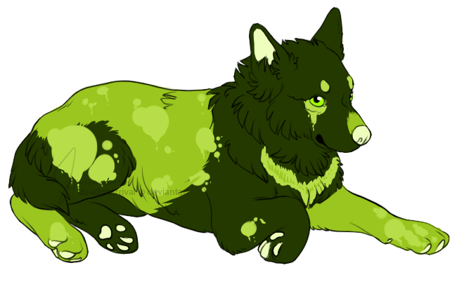 5 adopts! $3 each! NEW! Puppy_lineart_by_schizophrenicfennec-d8oxbm1