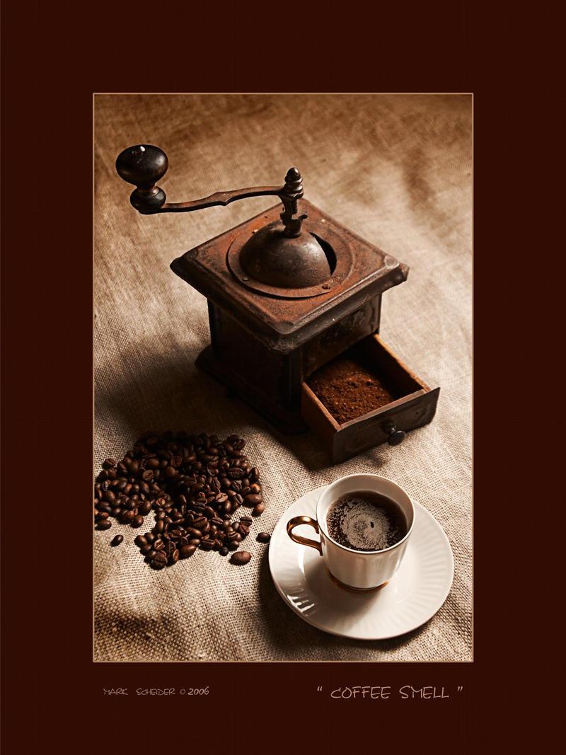 Coffe smell by MarkScheider