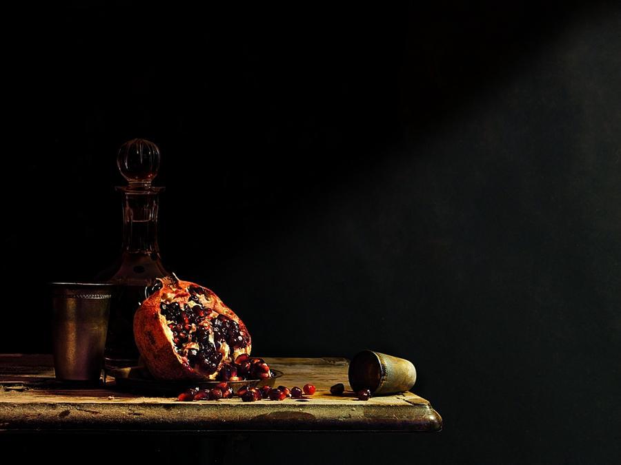 Still Life with Pomegranate by MarkScheider