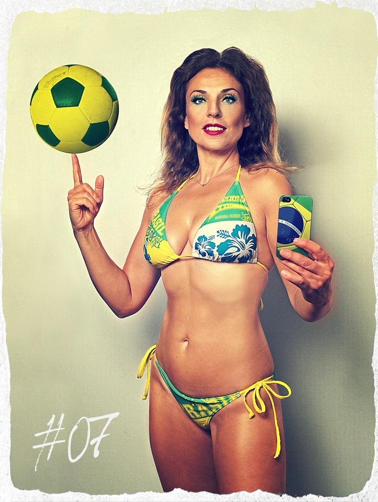 Selfie Girl 07 (Footballer) by MarkScheider