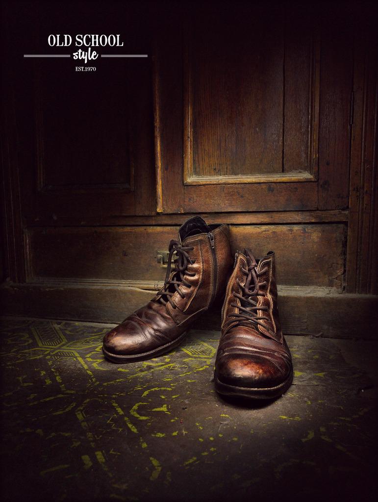 Boots. Old School by MarkScheider