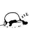 panda sleepie by lalucediamore