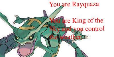 I am Rayquaza by kingdesmond