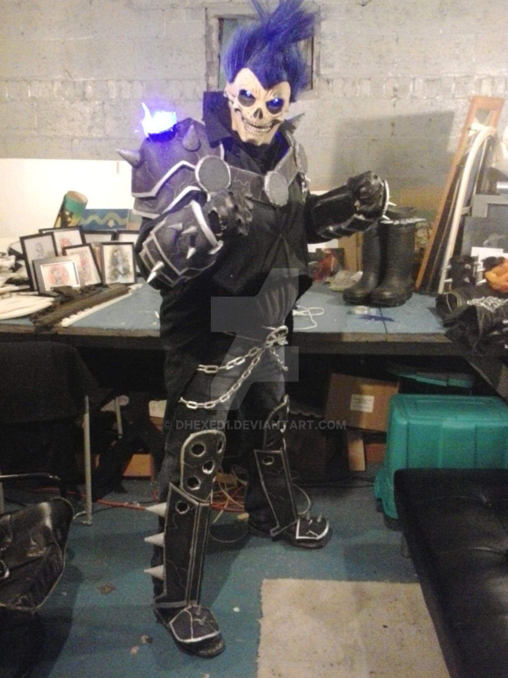 New ghost rider blue cosplay by dhexed1 on deviantart solutioingenieria Gallery