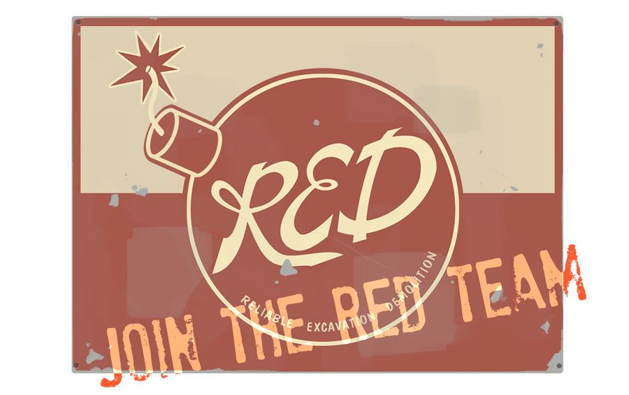 Tf2 join the red team by arubinokyuketsuki on deviantart - Tf2 logo wallpaper ...