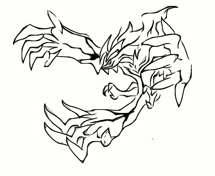 pokemon zygarde coloring pages - photo#30