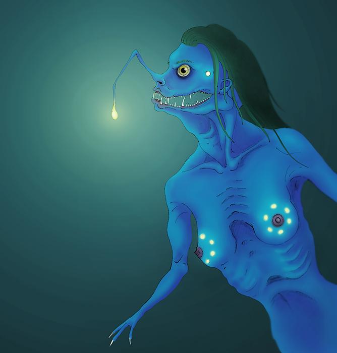 Deep sea mermaid by ohlopkov on DeviantArt