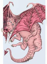 Demon pig by ohlopkov