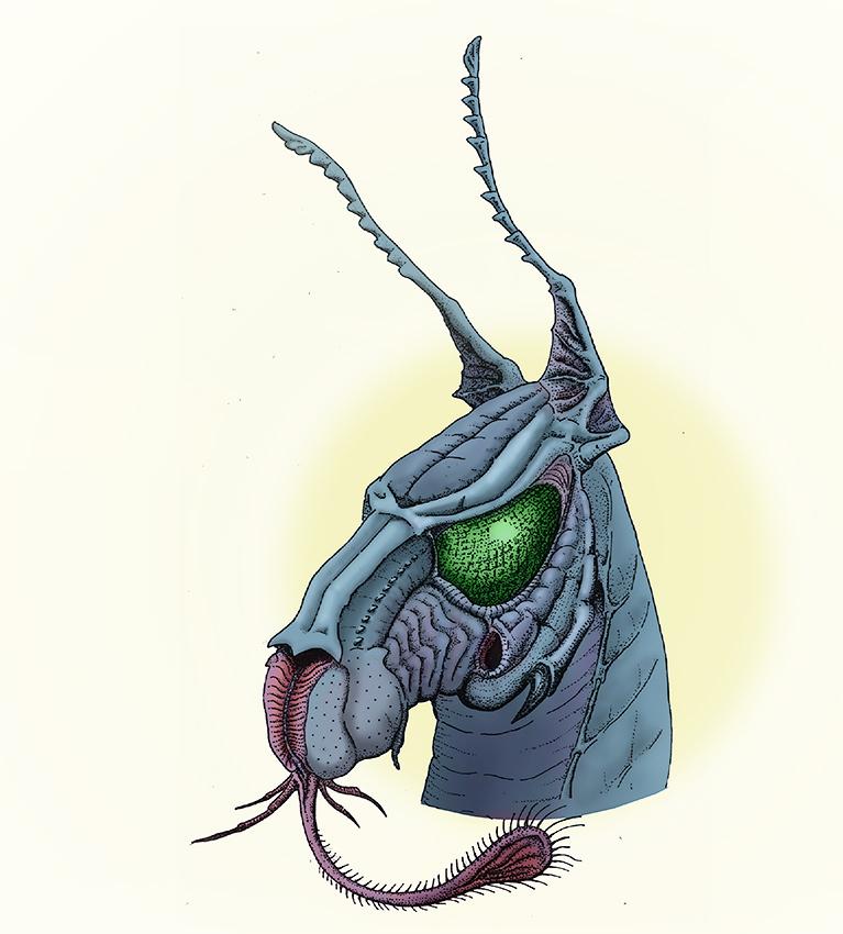 Alien horse by ohlopkov