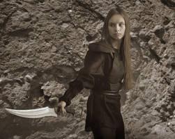 Elven warrior #4 by ohlopkov
