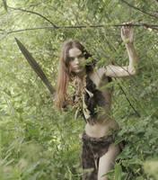 Barbarian girl #2 by ohlopkov