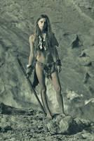 Cave girl by ohlopkov