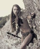 Cave girl #4 by ohlopkov