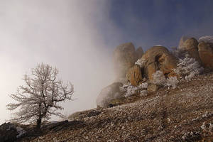 Clouds and rocks by ohlopkov