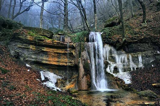 Ice waterfall #2