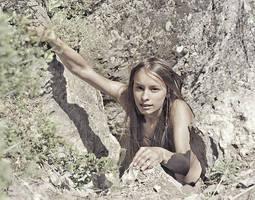 Rock climber by ohlopkov