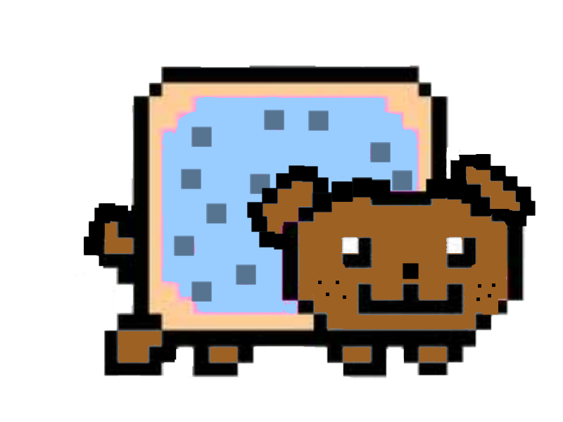 nyan dog by doodlebuglover10 | Publish with Glogster! Nyan Dog