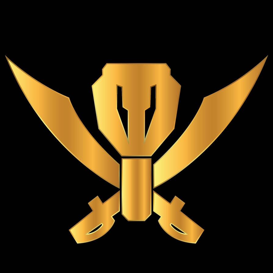 Gokaiger Gold Logo by theMagicKnock