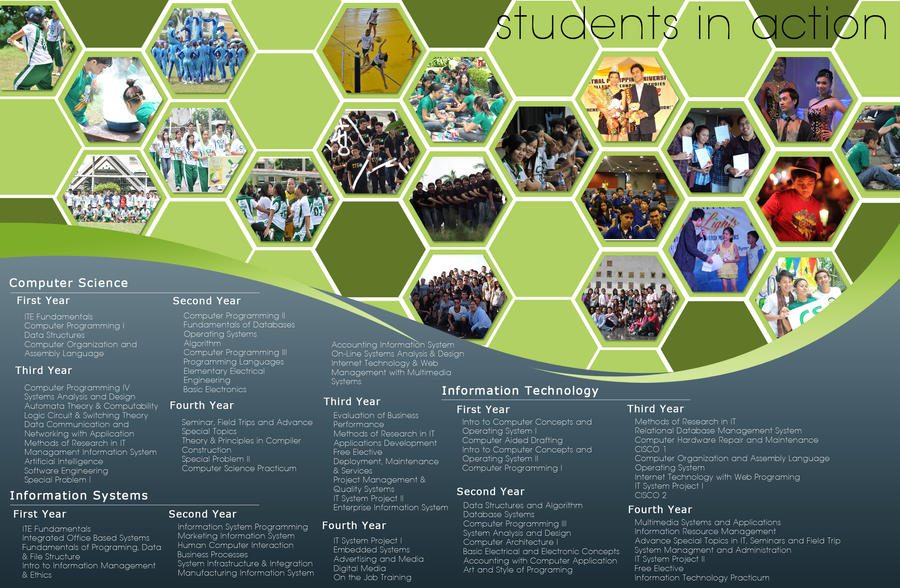 College Brochure By Erronsevilla On Deviantart