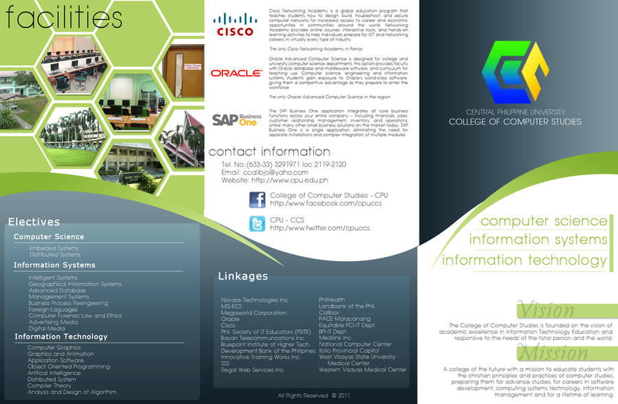 College brochure back section by erronsevilla on deviantart for Graduation brochure templates