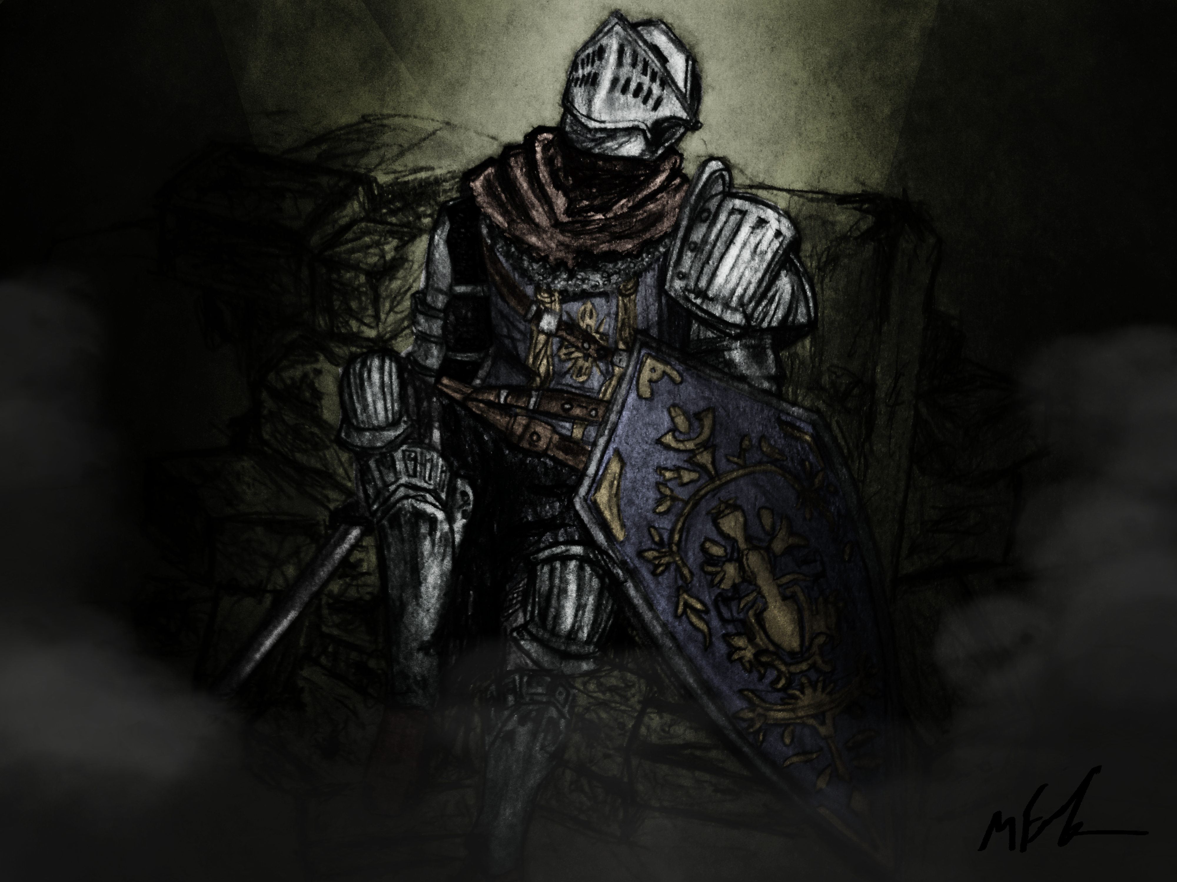Dark Souls And Or Art Thread