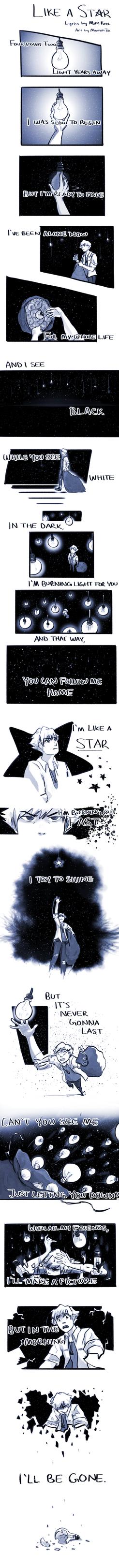 Like a Star by KuroRyu15